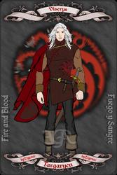 Viserys Targaryen by etgovac