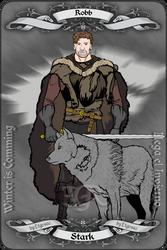 Robb Stark by etgovac