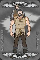 Bran Stark y Hodor by etgovac