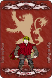 Tyrion Lannister by etgovac