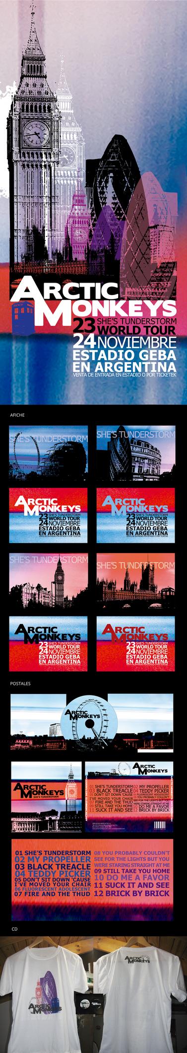 Arctic Monkeys by luaili
