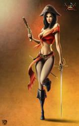 Pirate Girl by draken4o