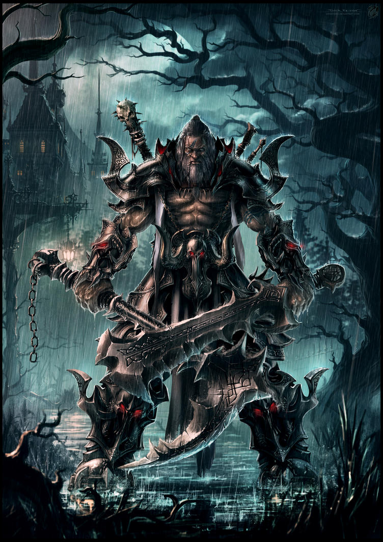 Barbarian Reaper of Demon Souls by draken4o