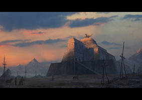 Ziggurat by draken4o