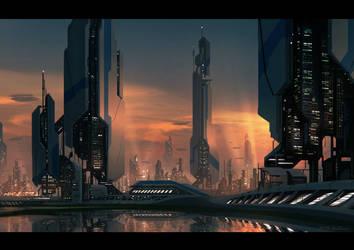 MetaCity by draken4o