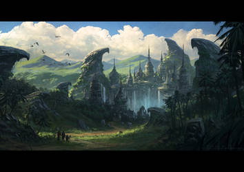 Lost CIty by draken4o