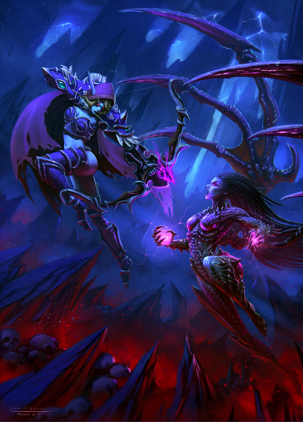 Българското участие във Fan Art състезанието на Blizzard и DeviantArt: Тодор Христов