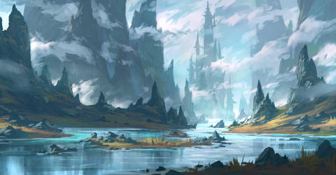Valley by draken4o