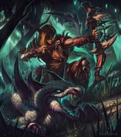 Stalkers by draken4o