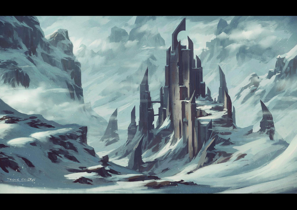 Winter Castle.. again :) by draken4o