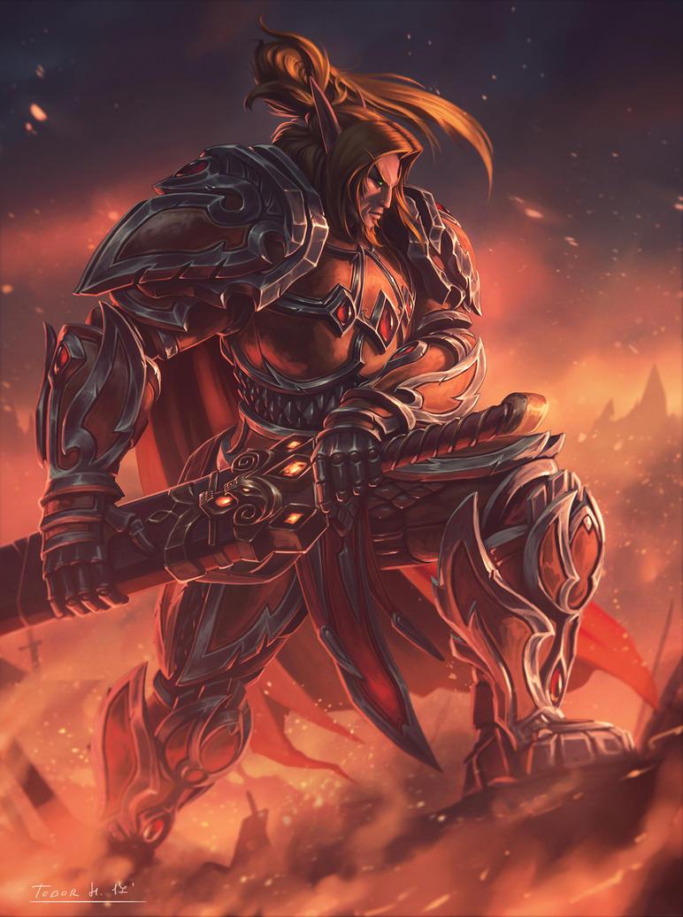 Tendael The Firebrand by draken4o