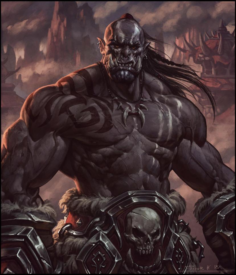 Mag'har Orc by draken4o