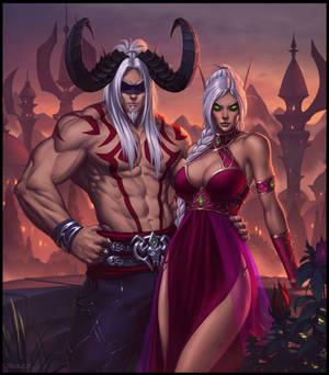 Blood Elf Couple
