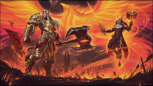 Symphony of Silvermoon: Battle for Sunstrider Isle by draken4o