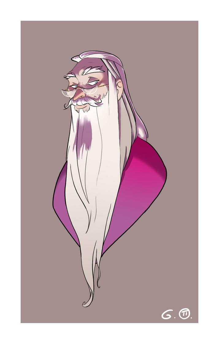 Headmaster Dumbledore by Iulie-O