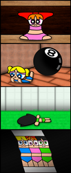 Some Powerpuff Girls TF'd in a Tom and Jerry way by ZacharyKO