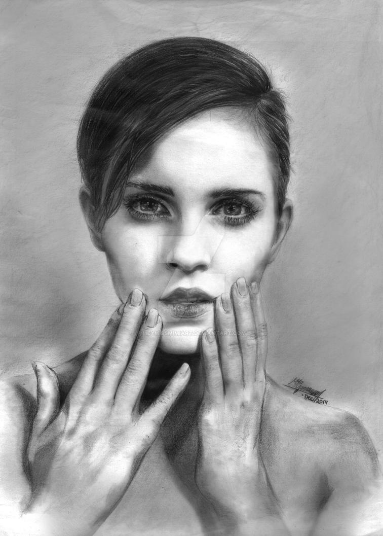 Emma Watson. by HeymissmimiArt