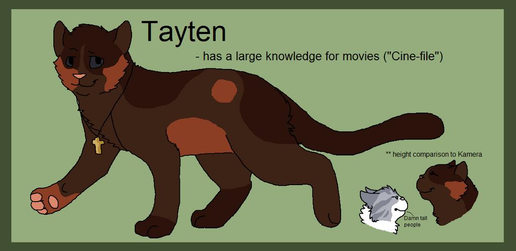 Tayten - ref by BanditKat