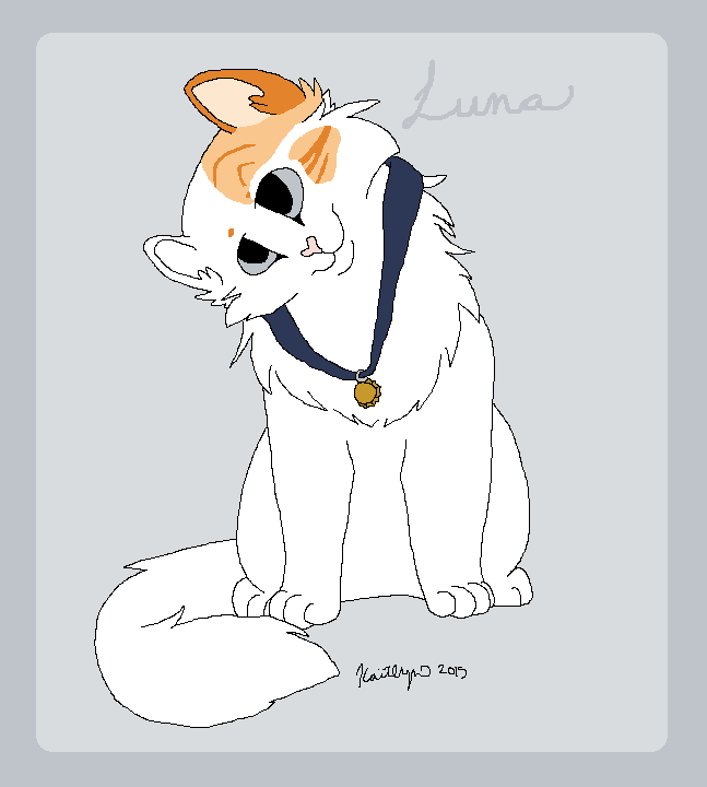 Harry Potter Cats - Luna Lovegood by BanditKat