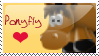 Ponyfly stamp by Limette-X