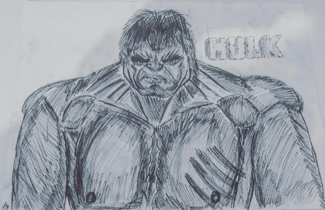 THE HULK!!!! cartoon by AsafMaLOL