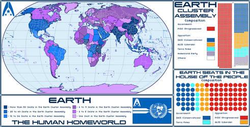 Mass Effect Reinterpretation - Earth - 2380