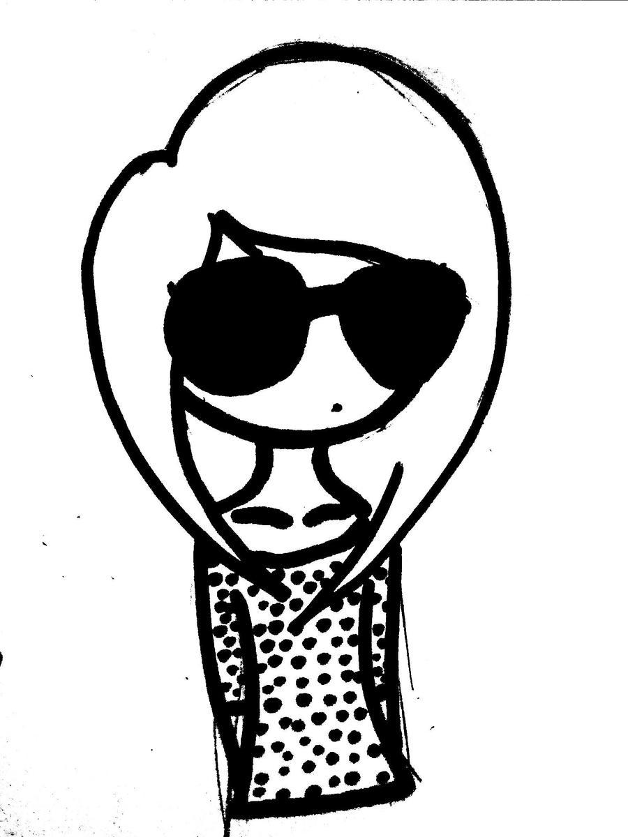 Zi w okularach by MarleoZi