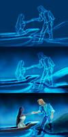 Pocahontas WIP [mouse art 2012]