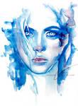 ice queen (watercolor girls 02)