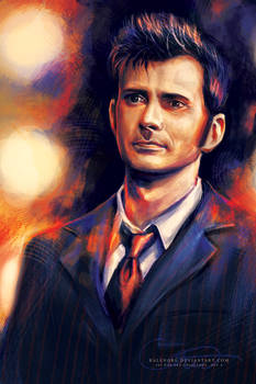 Day 4: The Tenth Doctor in the Tardis