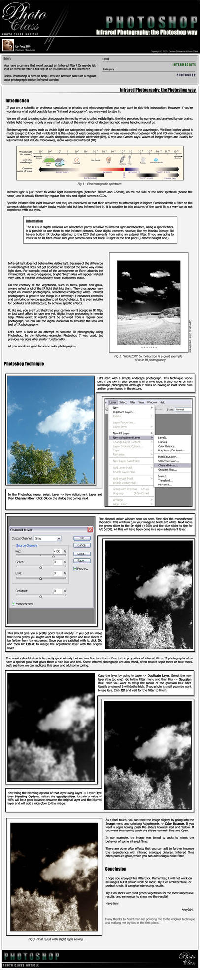 IR Photo: the Photoshop way by photo-class