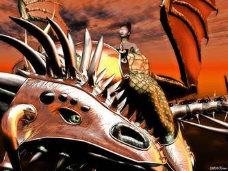 Dragon Rider by Krmn