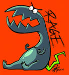 Rage monster by Contugeo