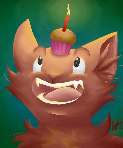 Happy Birthday, Kirya x3 by Contugeo