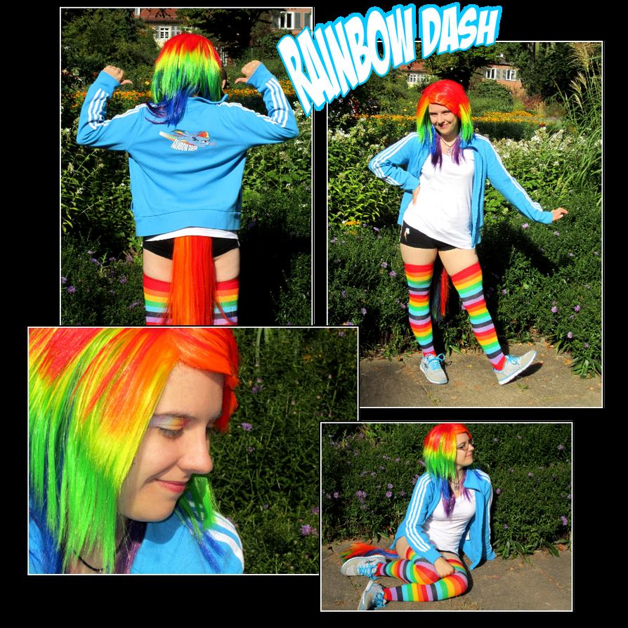 Rainbow Dash Cosplay 2012 by Contugeo