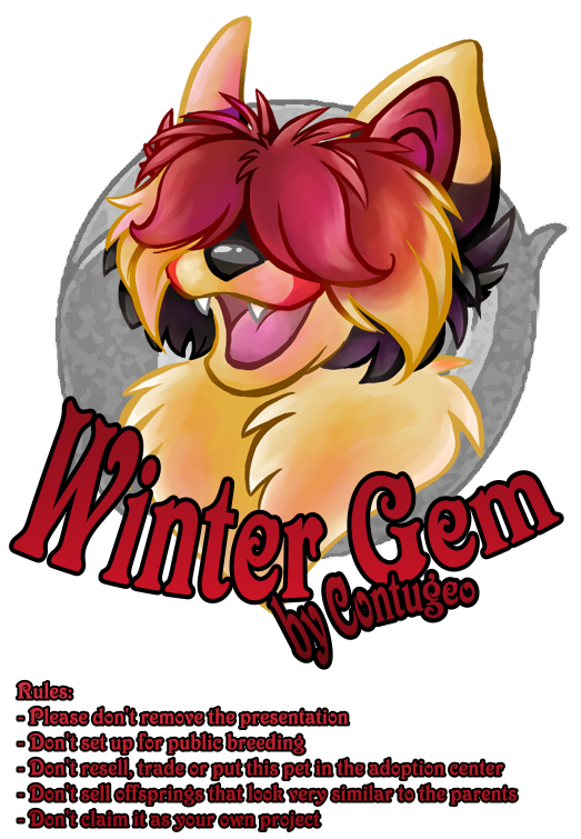 Winter Gem Project Pets by Contugeo