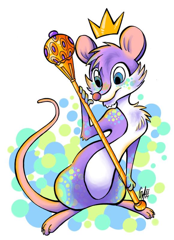 Little Rattus Queen by Contugeo