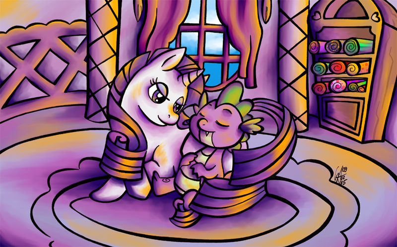Sleep well, my little friend by Contugeo