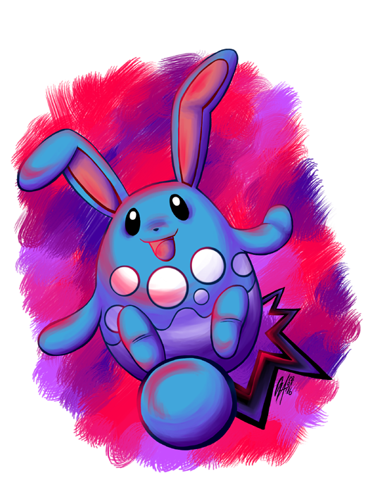 Azumarill by Contugeo