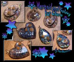 Galaxy and Mermaid Fur Charm