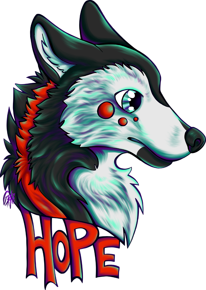 Commission Hope Badge by Contugeo