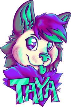 Commission Taya Badge