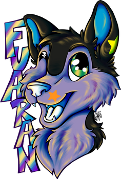 Commission Fuaran Badge