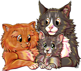 Commission Cat Family