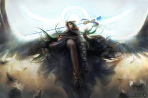 The Goddess by JisuArt