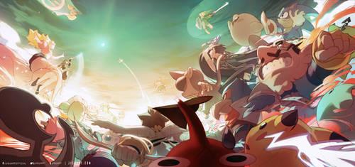 Smash! by JisuArt