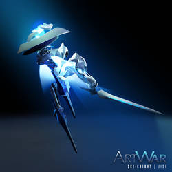 ArtWar: Sci-Fi Knight