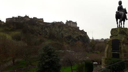 Edinburgh Castle by Mr-Earwig