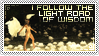Stamp : I follow the road of wisdom