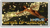 Stamp : wings of wisdom